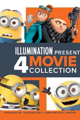 Illumination: 4-Movie Descpicable Me/Minons Collection (4K UHD Digital Films) $19.99 via Apple iTunes
