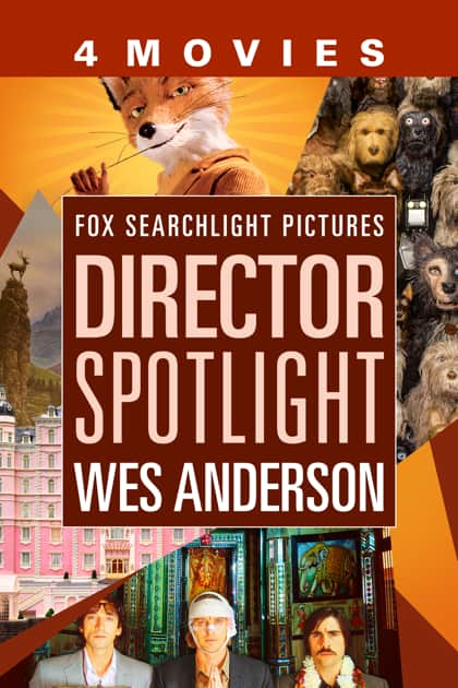 Wes Anderson Films: The Darjeeling Limited, Fantastic Mr. Fox, The Grand Budapest Hotel, Isle of Dogs (HD Digital Films) $19.99 via Apple iTunes
