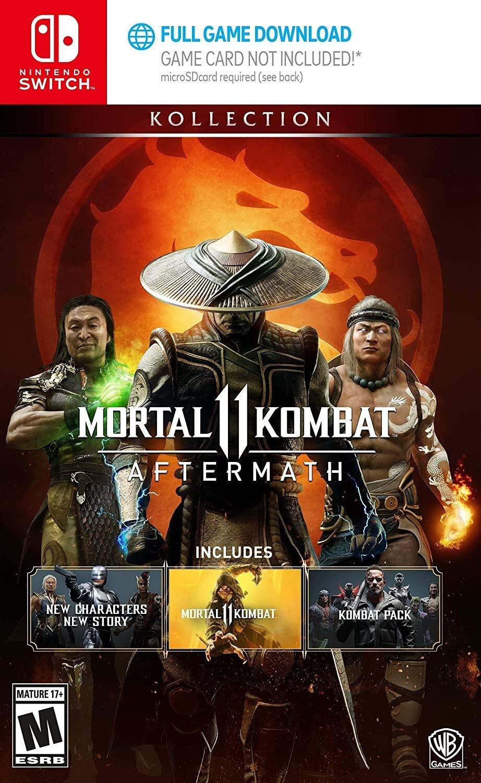 Mortal Kombat 11 Aftermath Kollection Ps4 Xbox One Or Nintendo