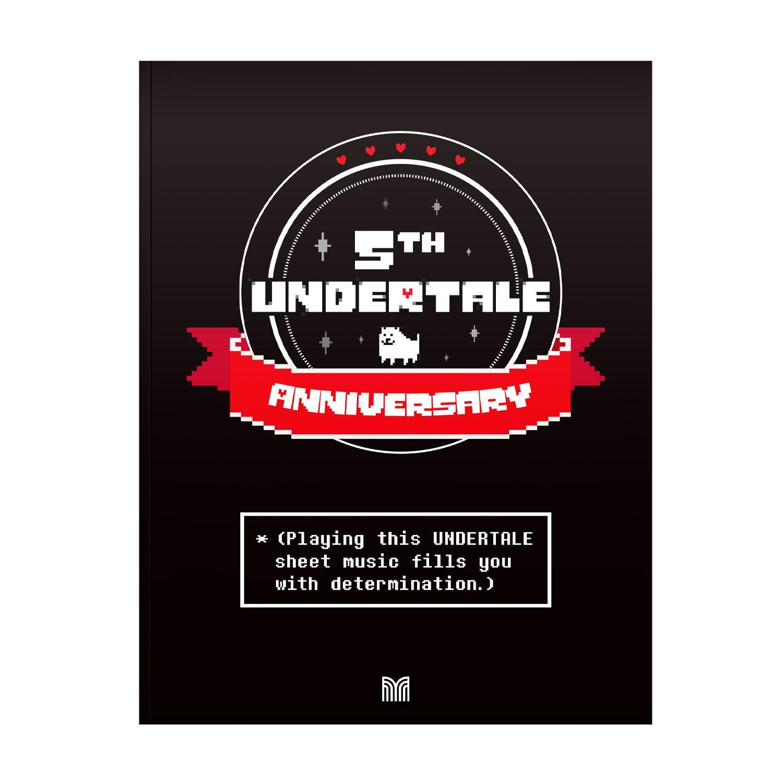 Undertale 5th Anniversary Digital Sheet Music Bundle Digital Download Free Via Materia Store