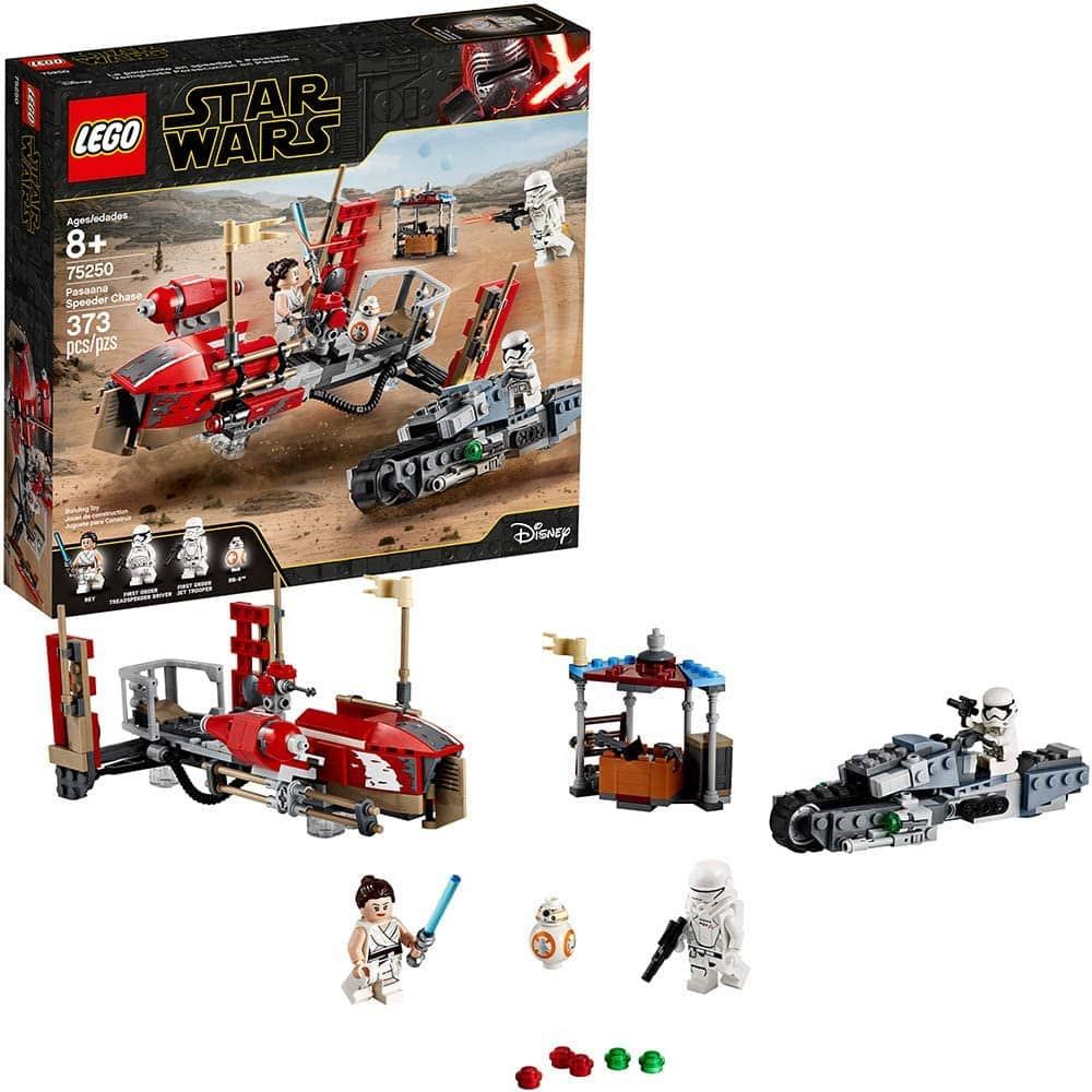 373-Piece LEGO Star Wars: The Rise of Skywalker Pasaana Speeder Chase Set $30.72 + Free Shipping via Amazon