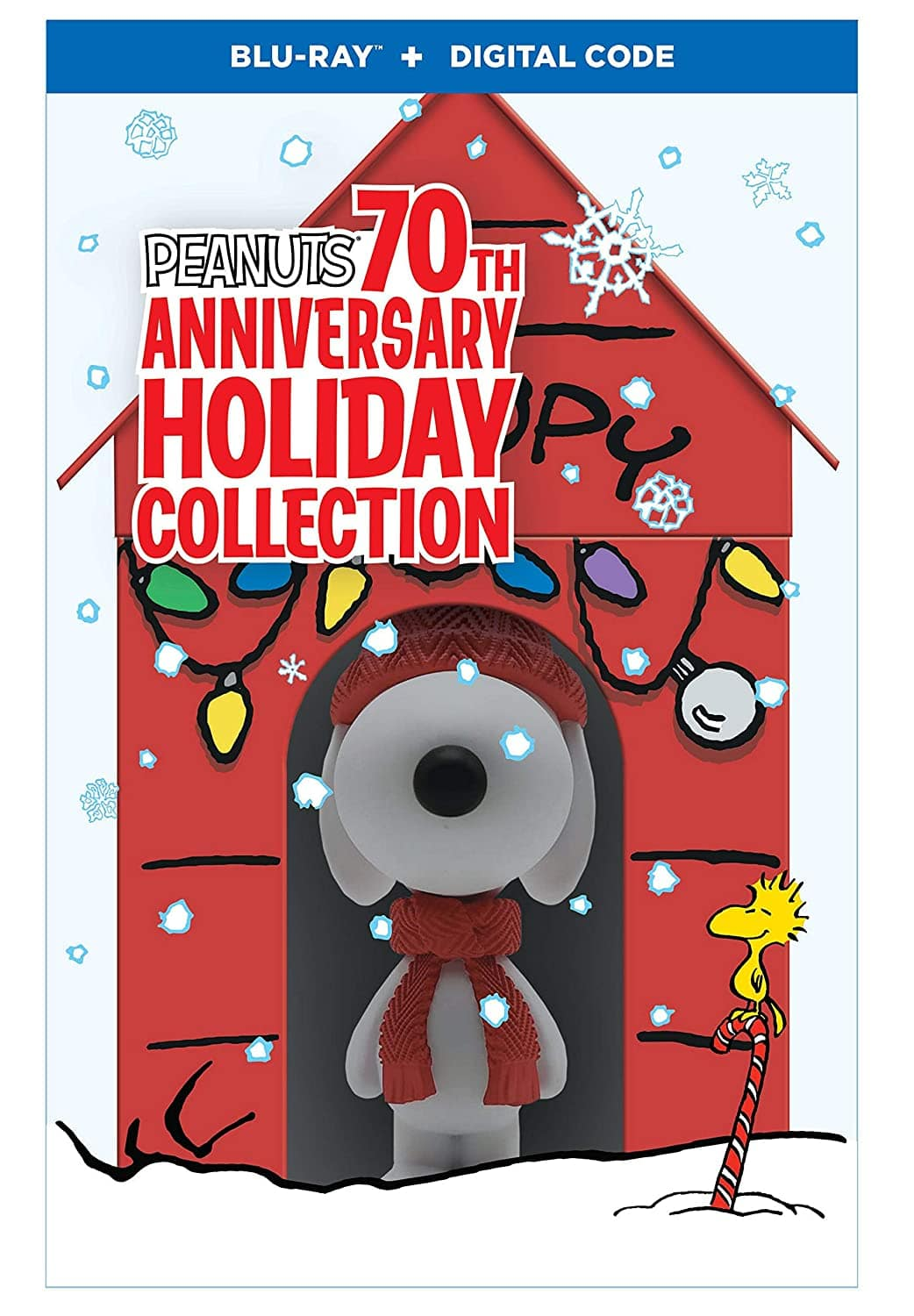 Peanuts: 70th Anniversary Holiday Limited Edition Collection (Blu-Ray + Digital Code) $39.99 + Free Shipping via Amazon