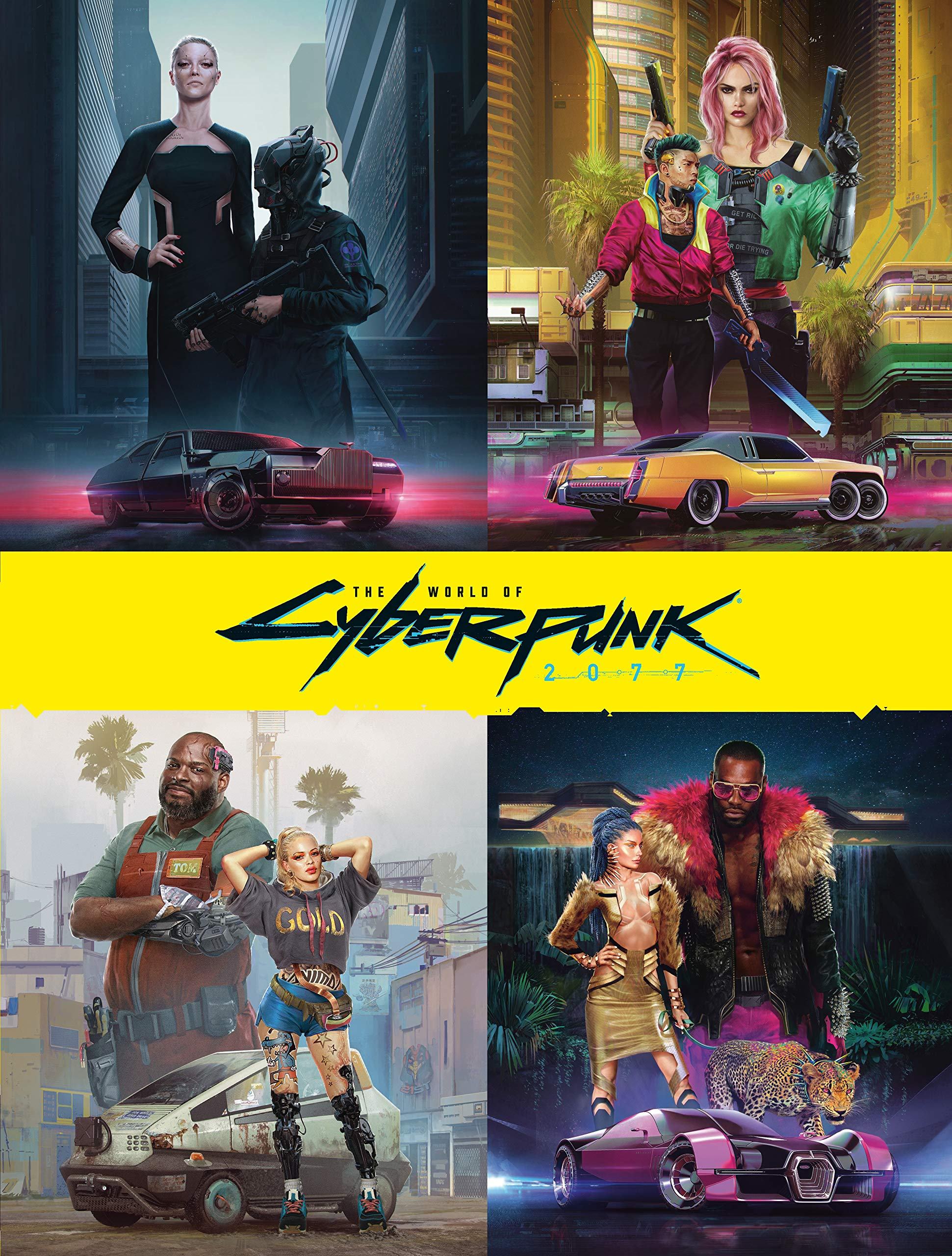 The World of Cyberpunk 2077 (192-Page Hardcover Book) $22.66 + Free Shipping via Amazon