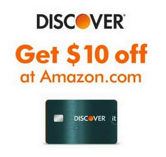 Amazon Discover Bonus: Pay w/ Discover Card + Points on Purchases