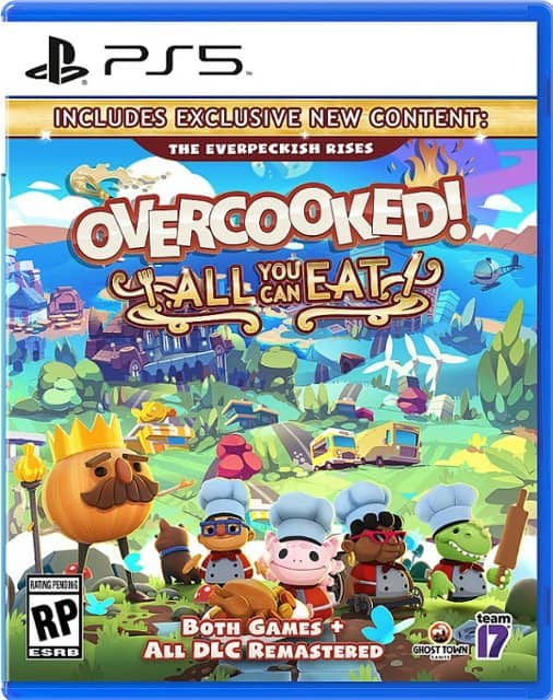 Overcooked! All you Can Eat (PS5 or Xbox Series X) $34.99 + Free Curbside Pickup via Best Buy/Amazon