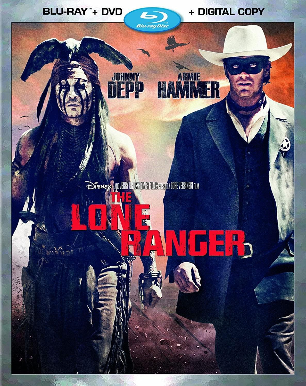 Disney's The Lone Ranger (Blu-Ray + DVD + Digital Copy) $9.99 via Amazon