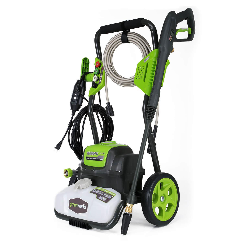 Greenworks GPW1800-RC Electric Pressure Washer - Refurbished $76.85