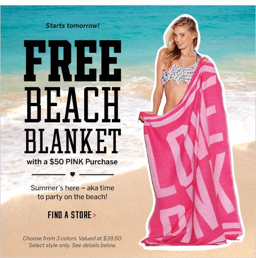 4cab84150fe70 Victoria Secret Free Blanket With 65 Purchase – Crochet Blanket ...