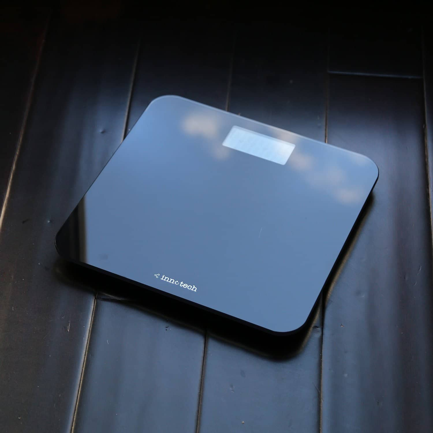 Innotech Digital Bathroom Scale with Easy-to-Read Backlit LCD (Black) $13.99 at AMAZON
