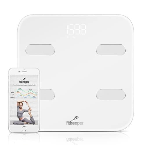 Fitkeeper Smart Body Scale with Free APP $26.99 @AMAZON