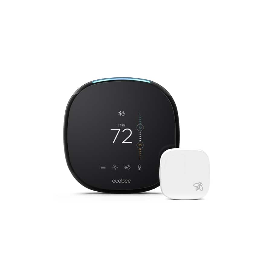 ecobee 4 Smart Thermostat with room sensor $139.30 less if you have movers or rebate YMMV
