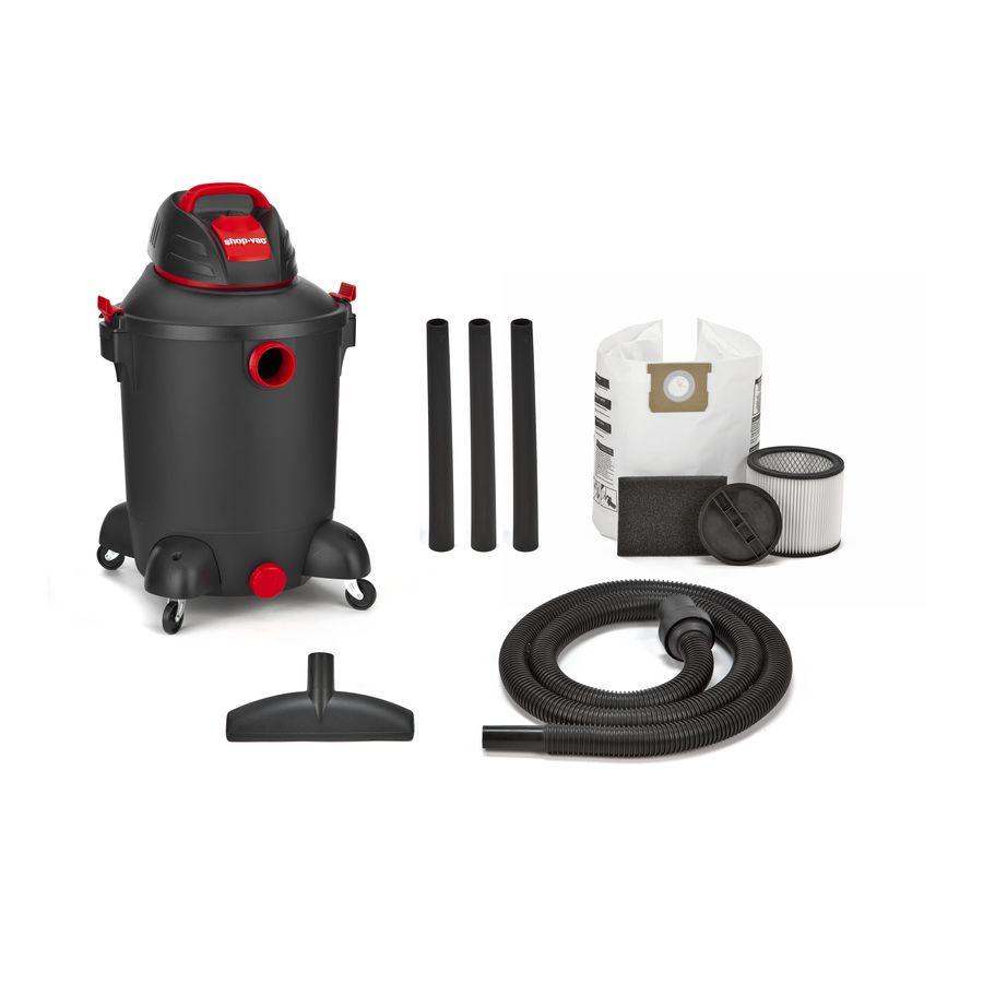 Shop-Vac 10-Gallon 4.5-HP Portable Wet/Dry Shop Vacuum $50 at Lowes