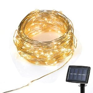 LED Copper Wire Solar Powered String Lights $13.99 @ Amazon w/ FPS