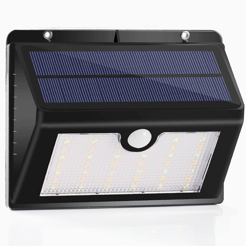 44 LED 2 Color Solar Sensor Lights with Hanging Hook $16.49 1 Pack w/FPS @ Amazon
