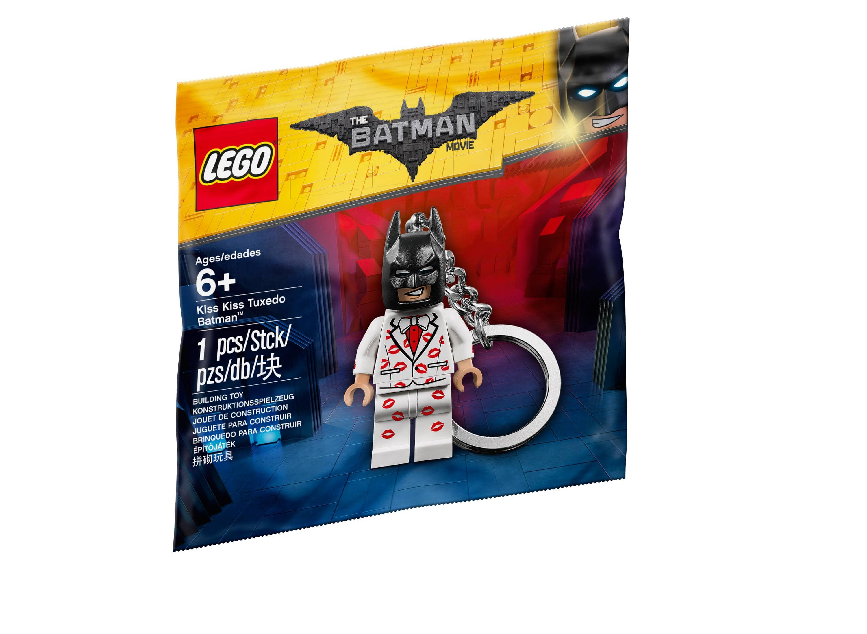 Lego Batman Movie Kiss Kiss Tuxedo Key Chain 5004928 $5.99
