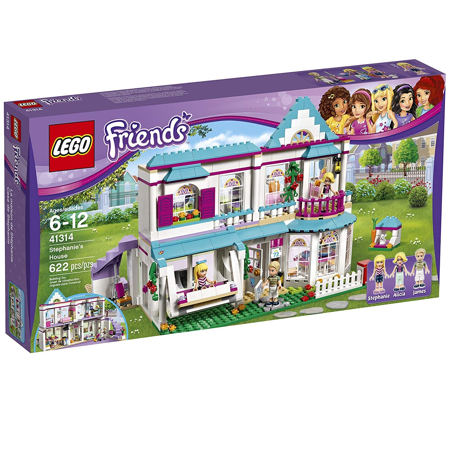 LEGO Friends Stephanie's House 41314 - $47.99 + Free Shipping