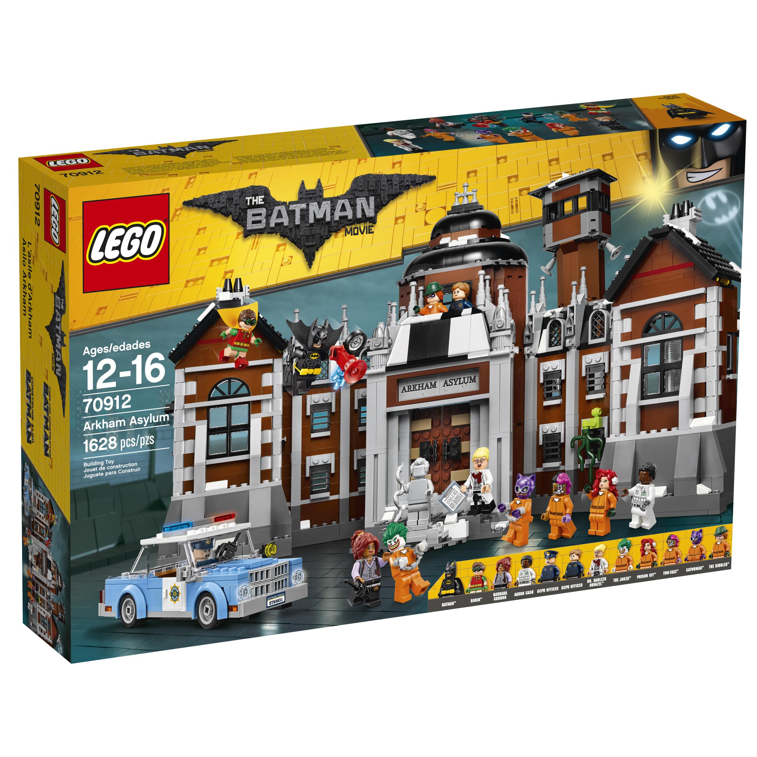 LEGO 70912 Batman Movie Arkham Asylum (1628 Pieces) 27% off! $109.99