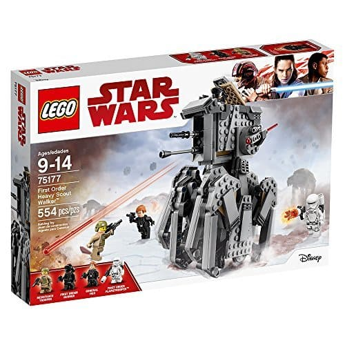 LEGO 75177 Star Wars First Order Heavy Scout Walker (554 Pieces) 40% off + Free Shipping $30