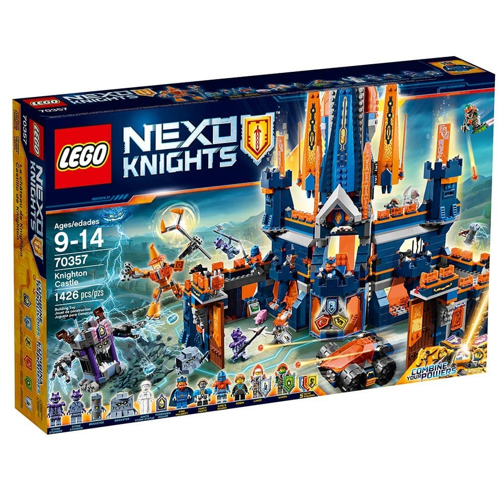 LEGO 70357 Nexo Knights Knighton Castle (1426 Pieces) 50% off + Free Shipping $64.99