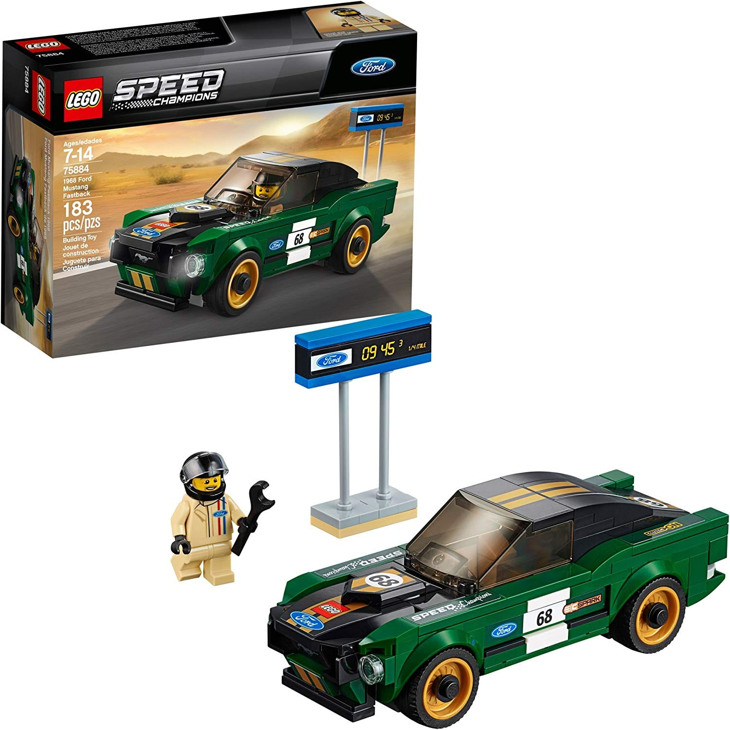Save $10 when you spend $50 on select LEGO