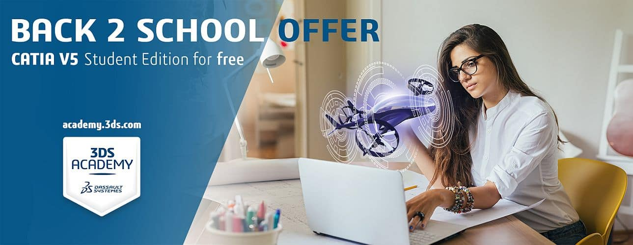 [Students] CATIA V5 Student Edition software for free (1 year license)