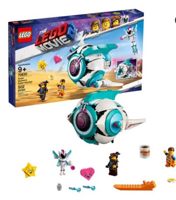 LEGO: The LEGO Movie Sweet Mayhem's Systar Starship was 35.00 now 15.00 - YMMV @ Walmart