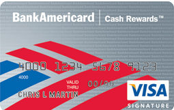 $400 Cashback after spending $500 in 3 months. 0% interest for 15 months.  Bank of America Visa Signature. No annual Fee. Targeted Offer only.