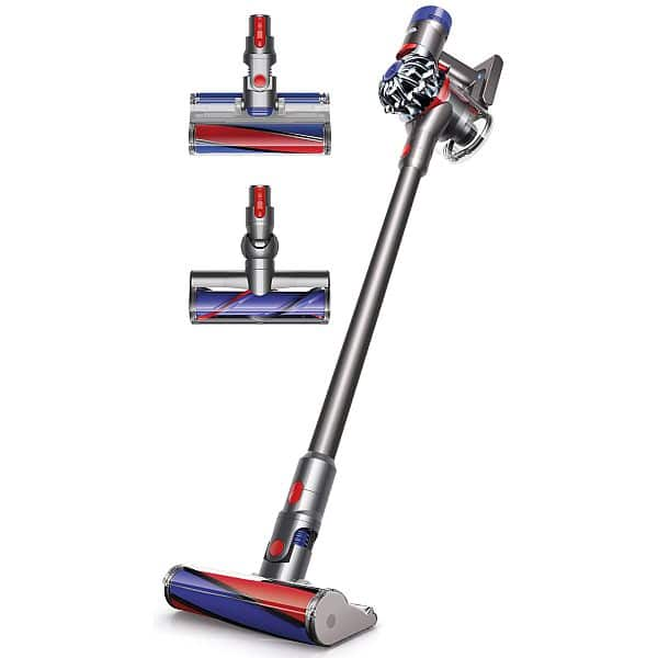 Dyson V8 Absolute 100$ off with three free tools at Dyson $499.99