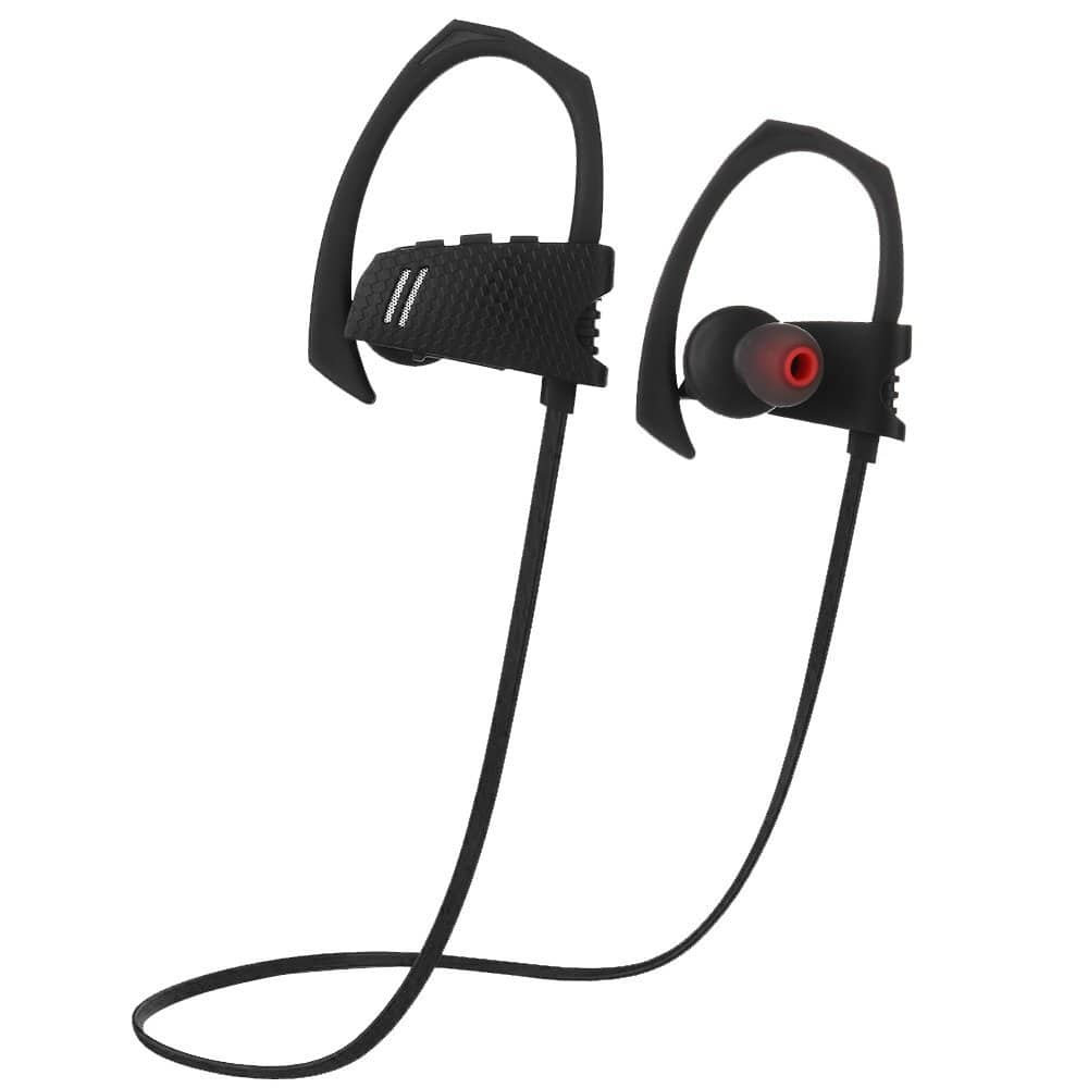 ecandy sport bluetooth headset in ear bluetooth 4 1 sweat proof earbuds with mic and crystal hd. Black Bedroom Furniture Sets. Home Design Ideas