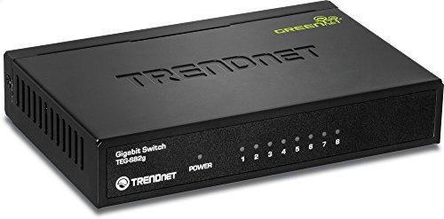TRENDnet 8-Port Unmanaged Gigabit GREENnet Desktop Metal Housing Switch, TEG-S82g Amazon $17.99 (FS with Prime)