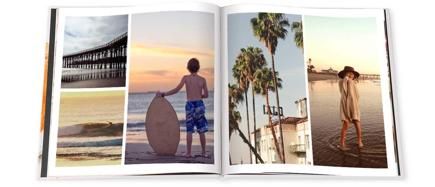 Snapfish 20-Page 8x11 Hardcover Photo Book - Free Shipping $9.99