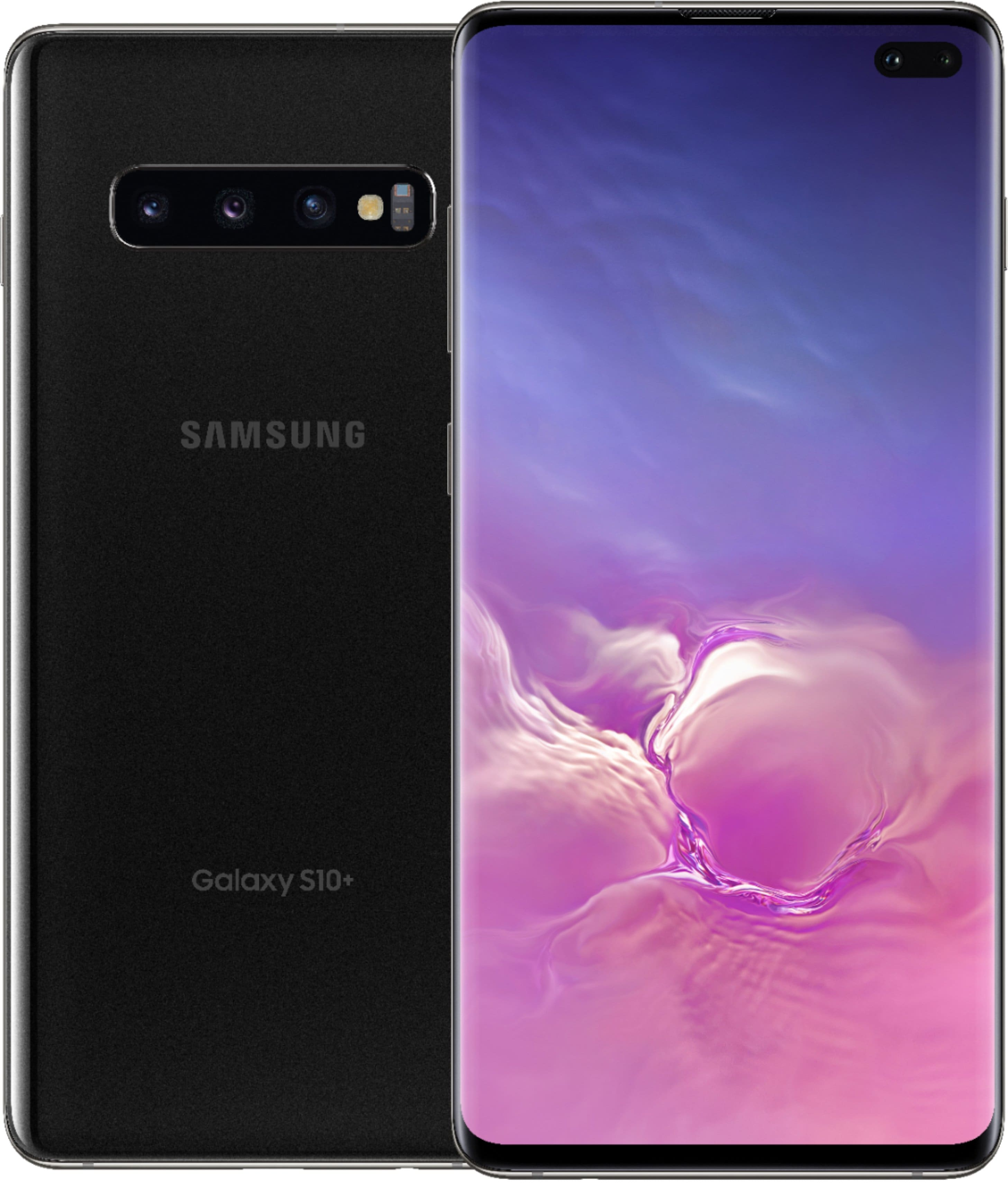 SPRINT ADD A LINE ONLY- Samsung - Galaxy S10+ with 128GB Memory- White (Pay only taxes and activation))