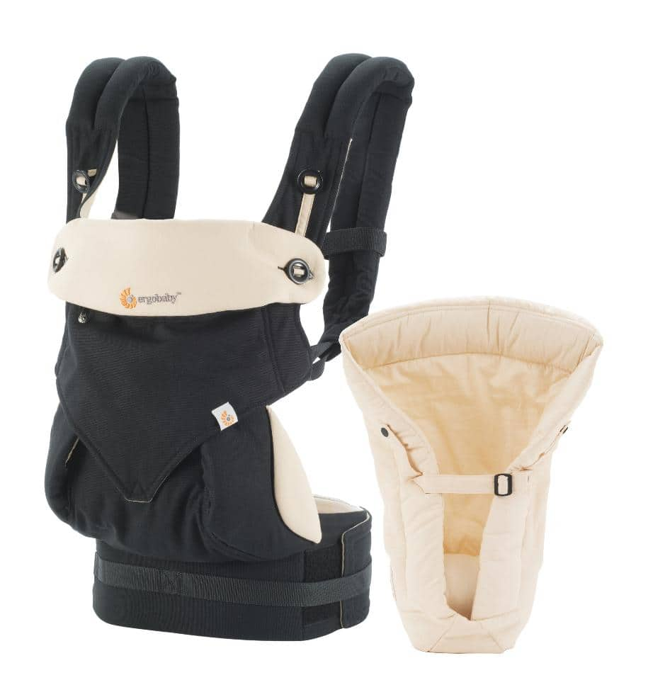 Ergobaby 360 All Carry Positions Bundle of Joy Baby Carrier - Black Camel-$124.98 +tax, free shipping