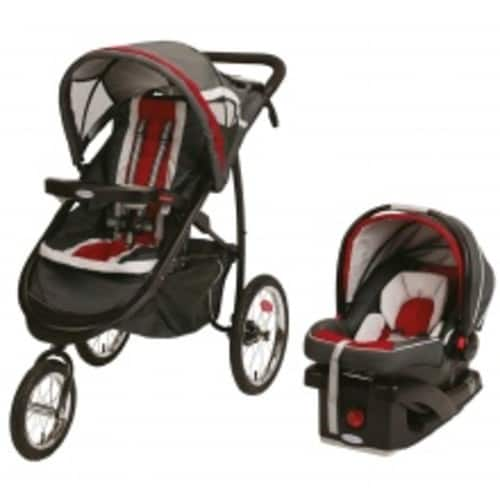 Graco Fast Action Jogger Travel System Chili Red $166.59