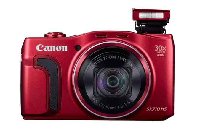 Canon PowerShot SX710 HS Refurbished (Red) $128 + 8GB SD + Free Shipping @ shop.usa.canon.com