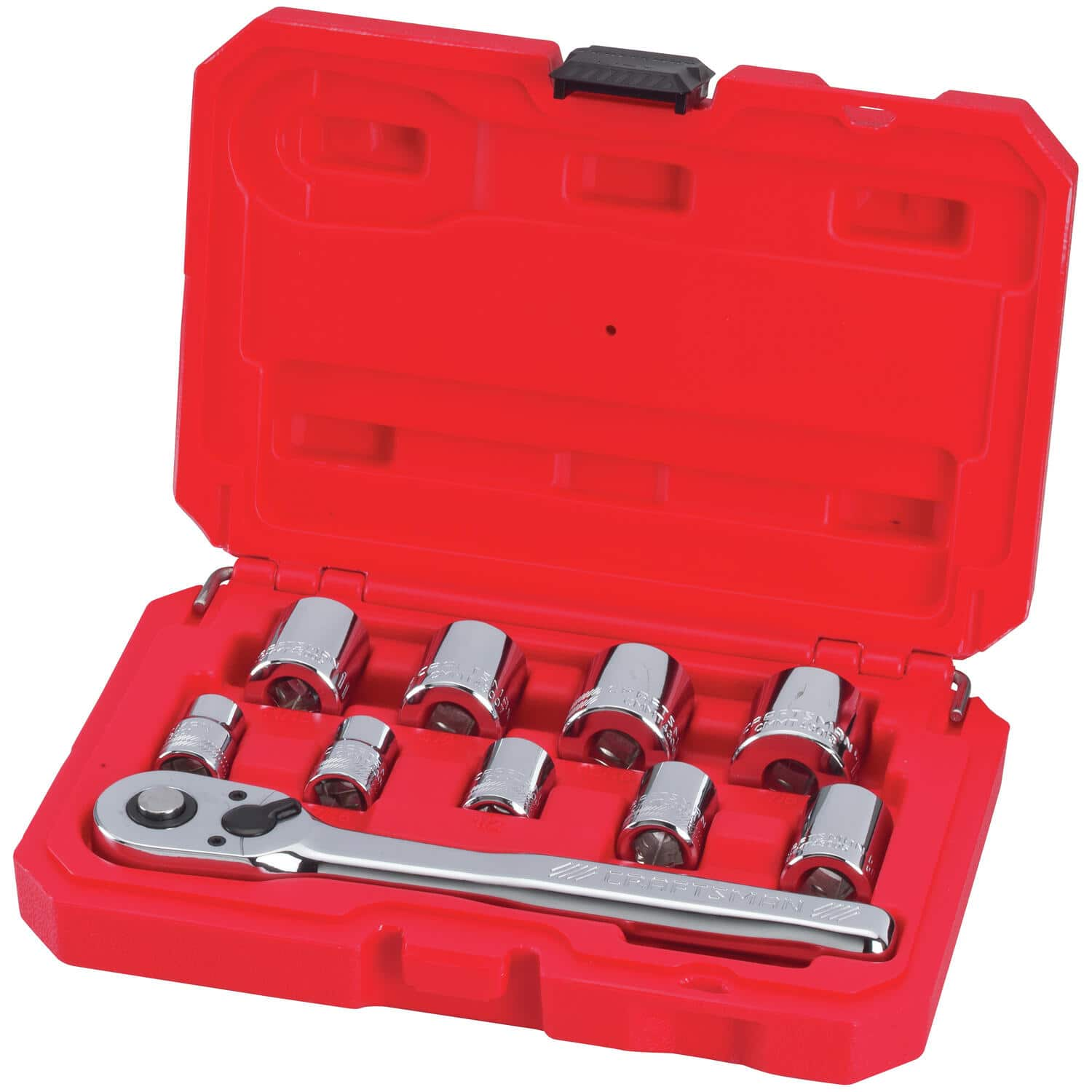 Craftsman 10-Piece 3/8-in Drive SAE Mechanics Tool Set $9.99 at Lowes