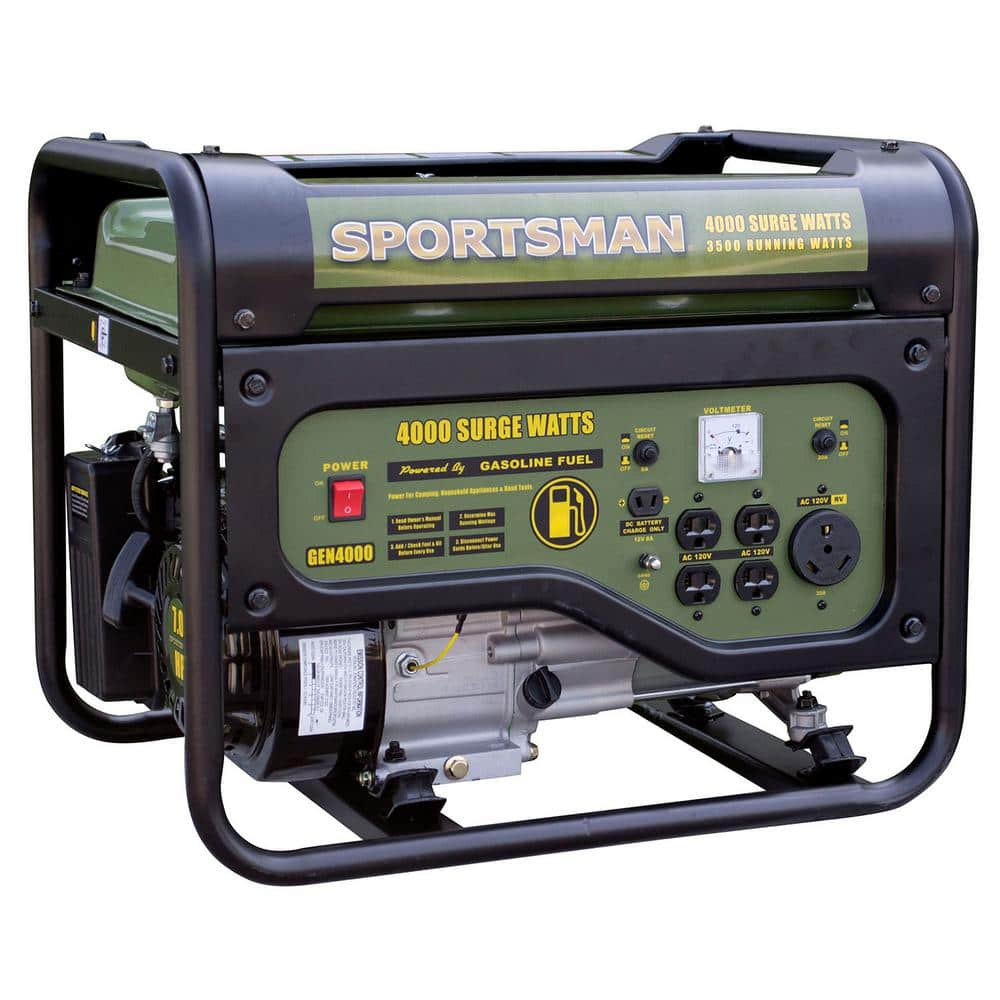 Sportsman 4,000/3,500-watt Dual Fuel Powered Portable Generator, Runs on LPG or Regular Gasoline Home Depot $269 (non Carb-Compliant)