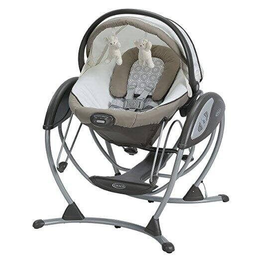 Graco Soothing System Glider Baby Swing, Abbington $115.59