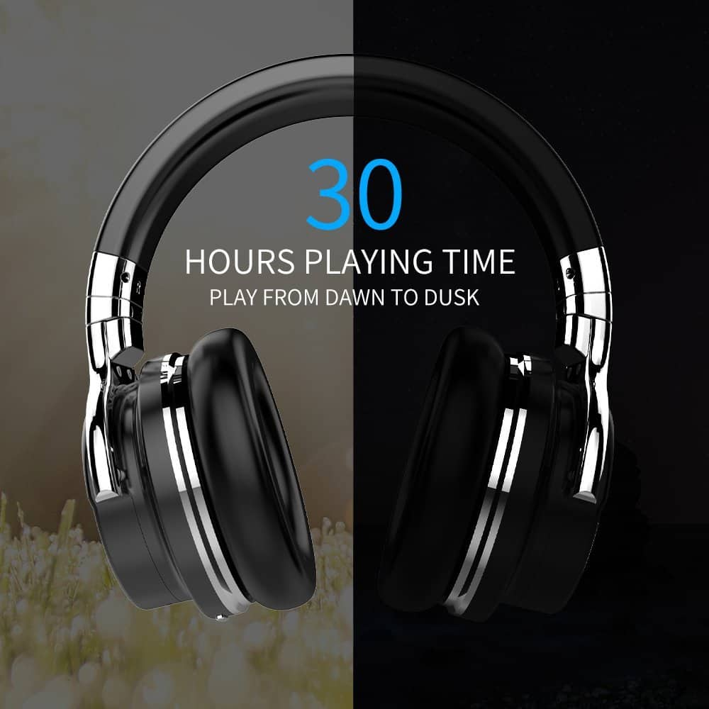 42% Off for E7 Active Noise Cancelling Bluetooth Headphones with Microphone (Final cost $39.99)