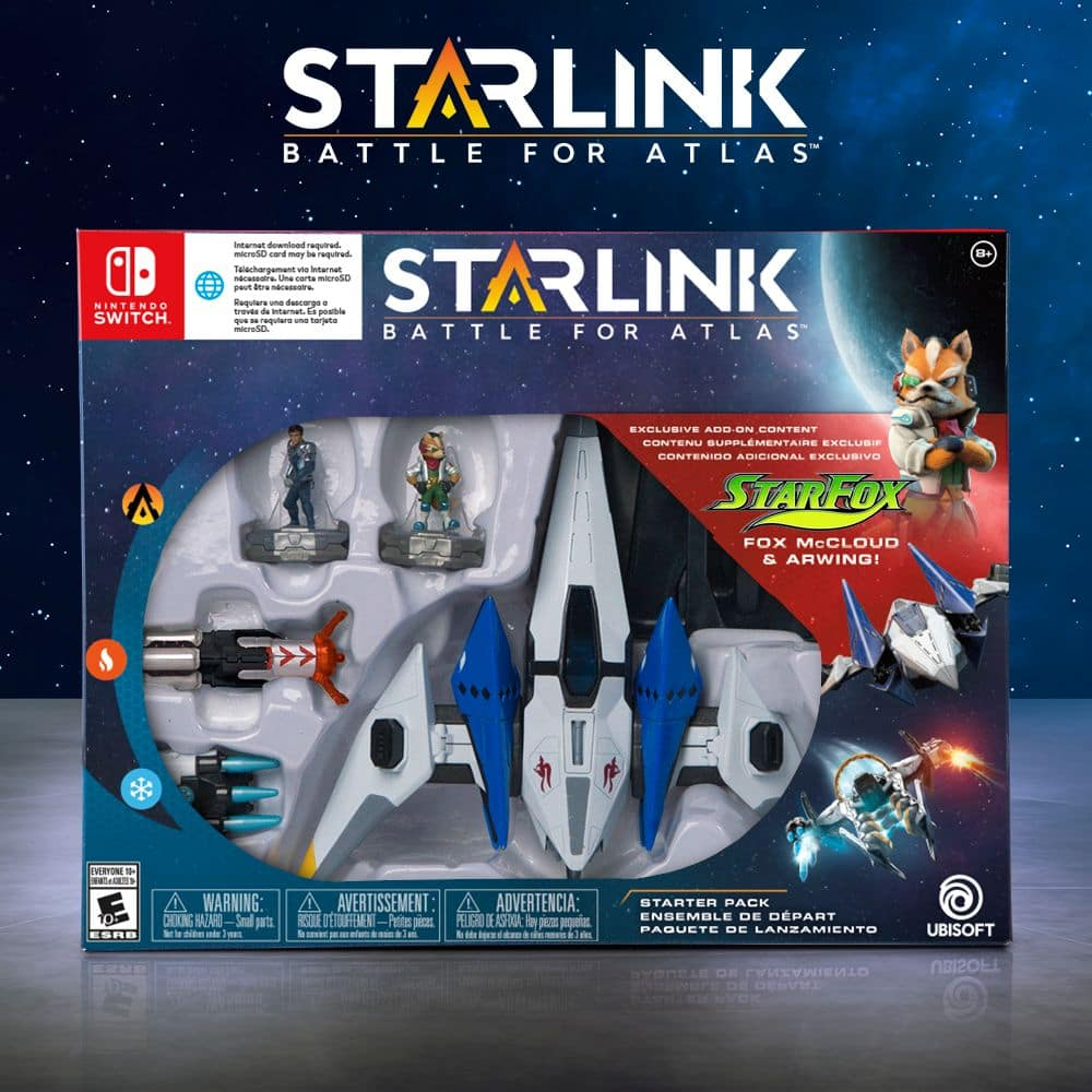 Starlink: Battle for Atlas Starter Pack Featuring Star Fox - Nintendo Switch: Best Buy $5.99 + 3.99 shipping or Free store pick up