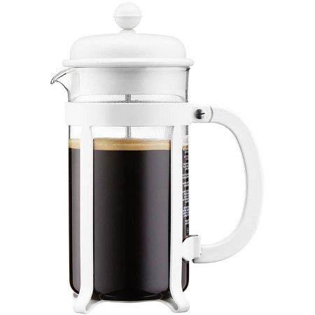 Bodum Java French Press Coffee Maker, 8 Cup, 1.0L, 34 oz, White $15
