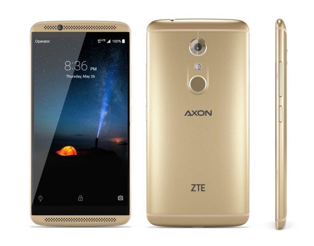 (USED) ZTE AXON 7 mini - 32GB - Gold GSM Unlocked $85