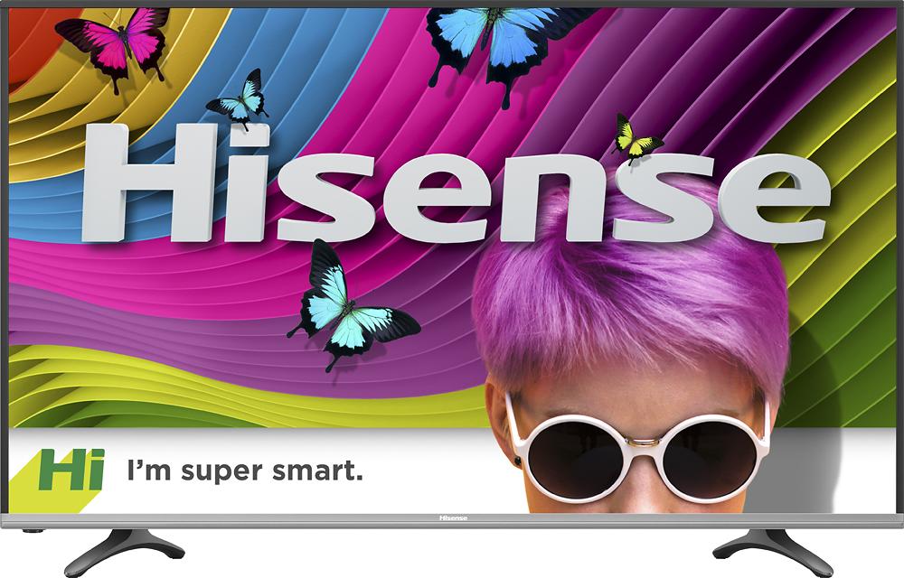 Select Walmart Stores - Hisense 65 Class 4K (2160P) Smart LED TV (65H6D) for as low as $299