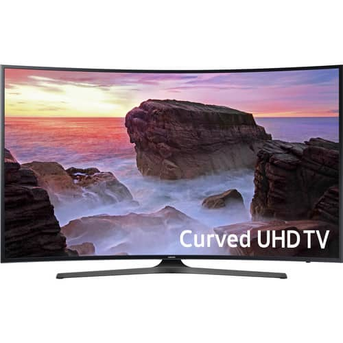 "Walmart Select Stores - SAMSUNG 65"" Class Curved 4K (2160P) Ultra HD Smart LED TV (UN65MU6500FXZA) for as low as $449, B&M, YMMV"