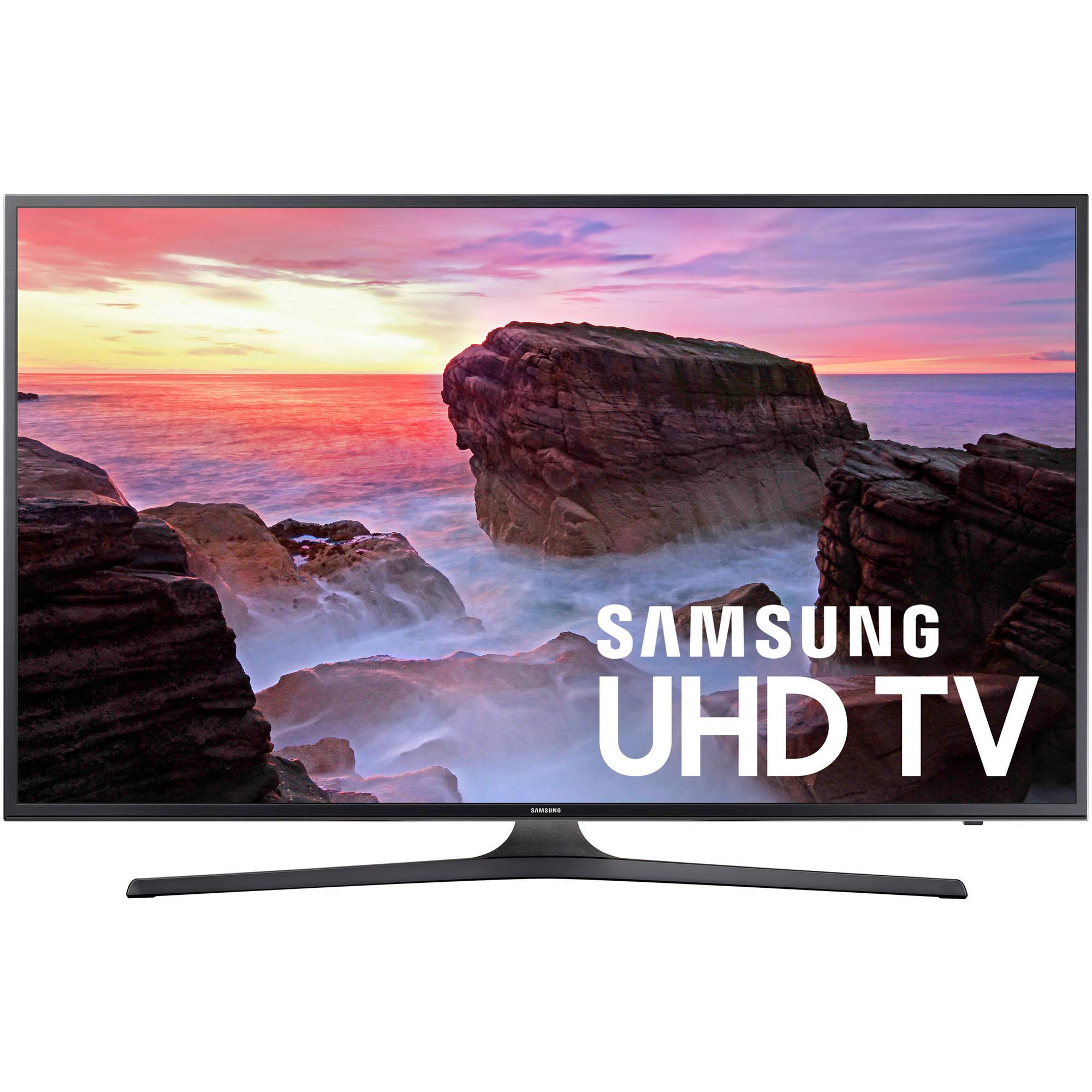 "SAMSUNG 50"" Class 4K (2160P) Ultra HD Smart LED TV (UN50MU6300FXZA) for as low as $299"