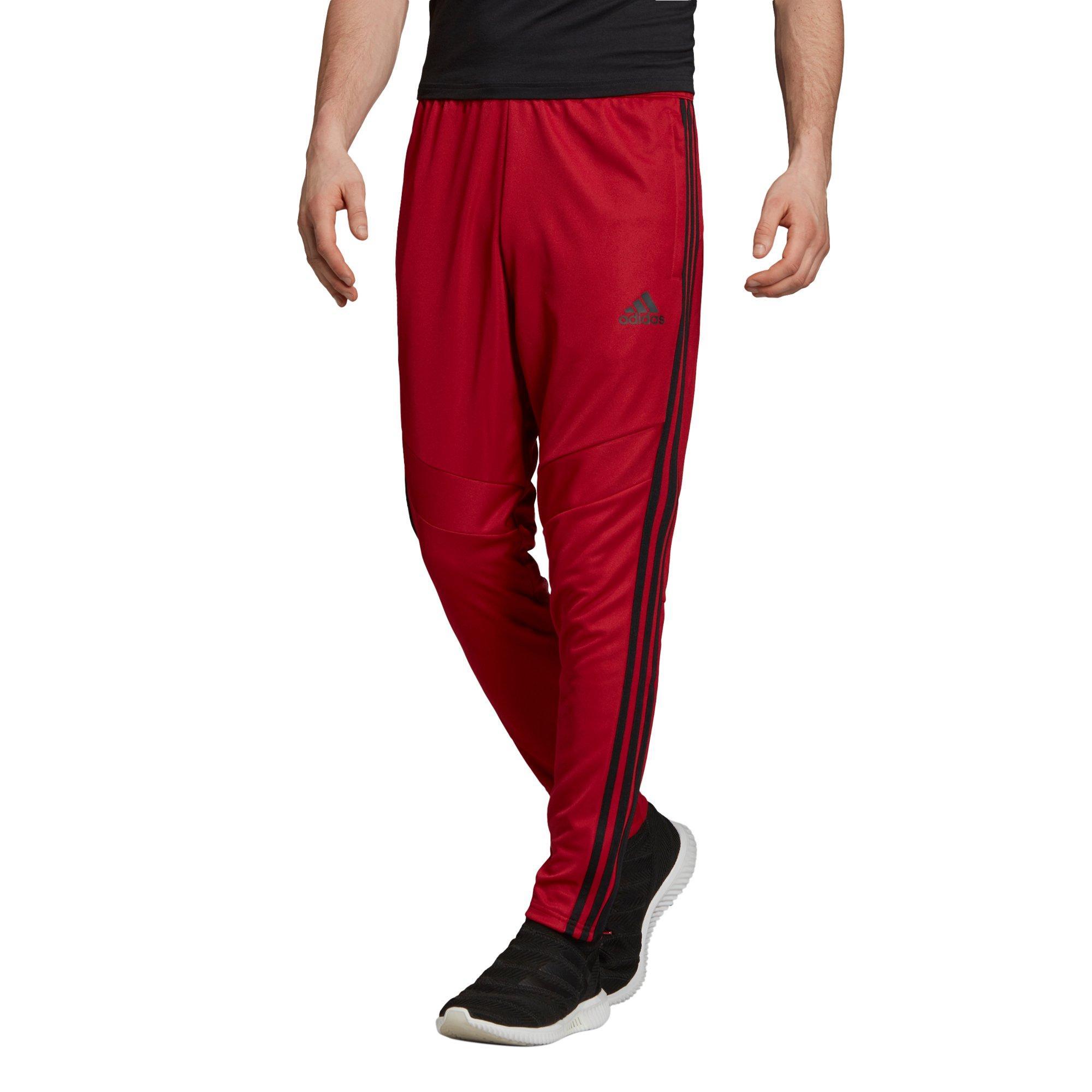 adidas Men's Tiro 19 Pants (maroon) + Free Shipping $16.48