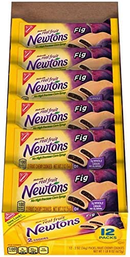 Newtons Fruit Chewy Cookies, (Fig, 2-Ounce Single-Serve Bags, 48-Pack) $16.93 at amazon