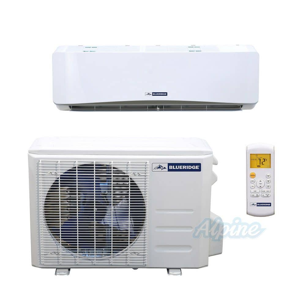 Blueridge 24000-BTU Ductless Mini Split WiFi Air Conditioner