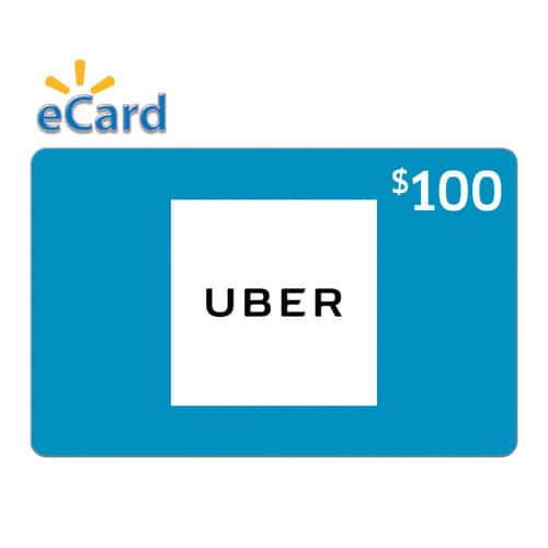 Uber $100 (email delivery) for $90