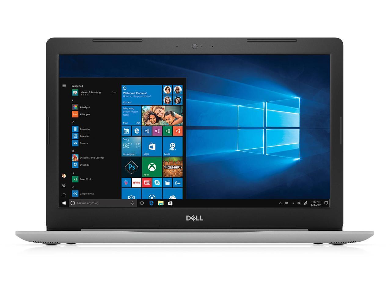 Dell Inspiron 15 5570: 15.6'' FHD, i7-8550U, 8GB DDR4, 128GB SSD + 1TB HDD, Fingerprint Reader, Win10H